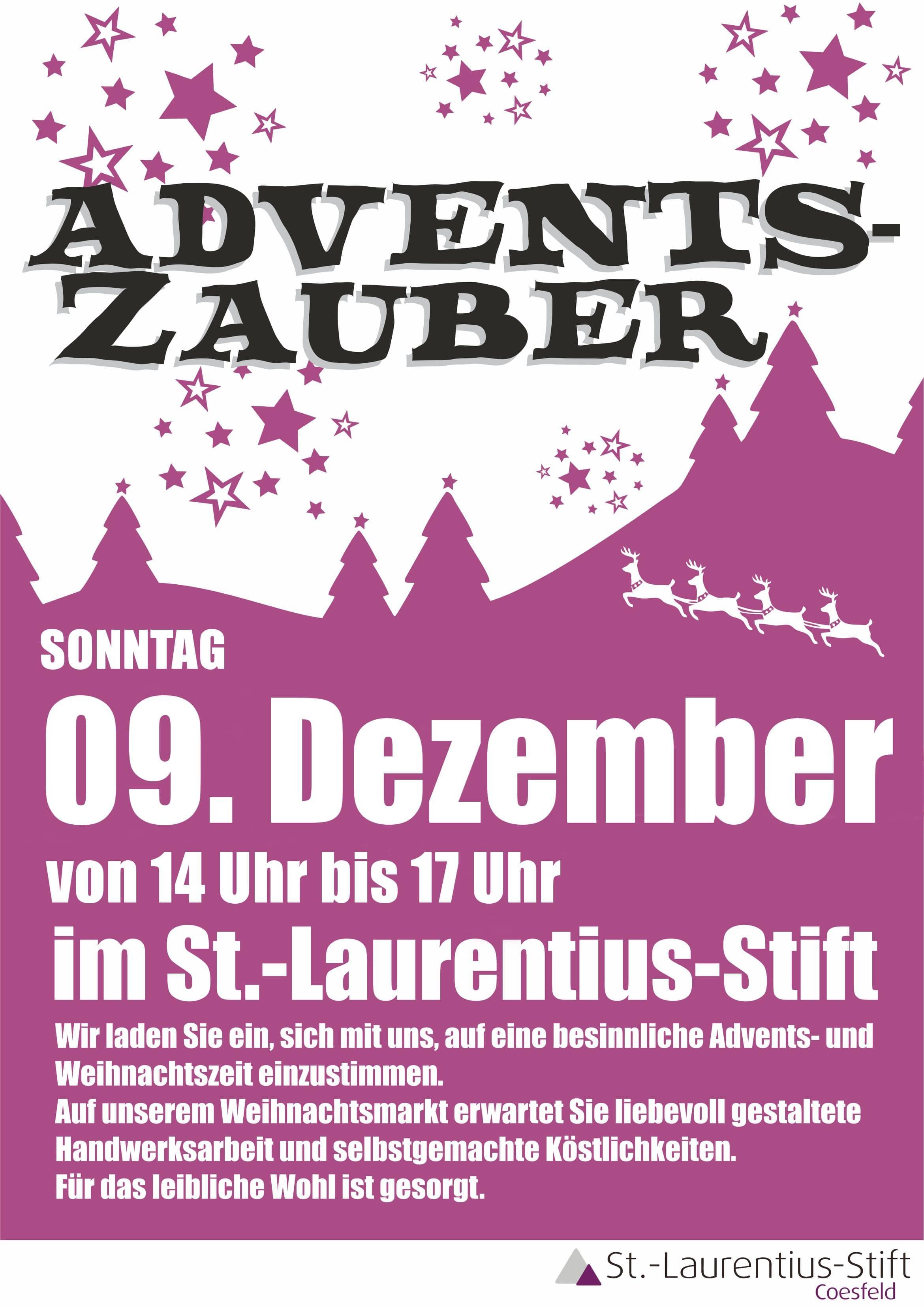 Adventszauber St.-Laurentius-Stift