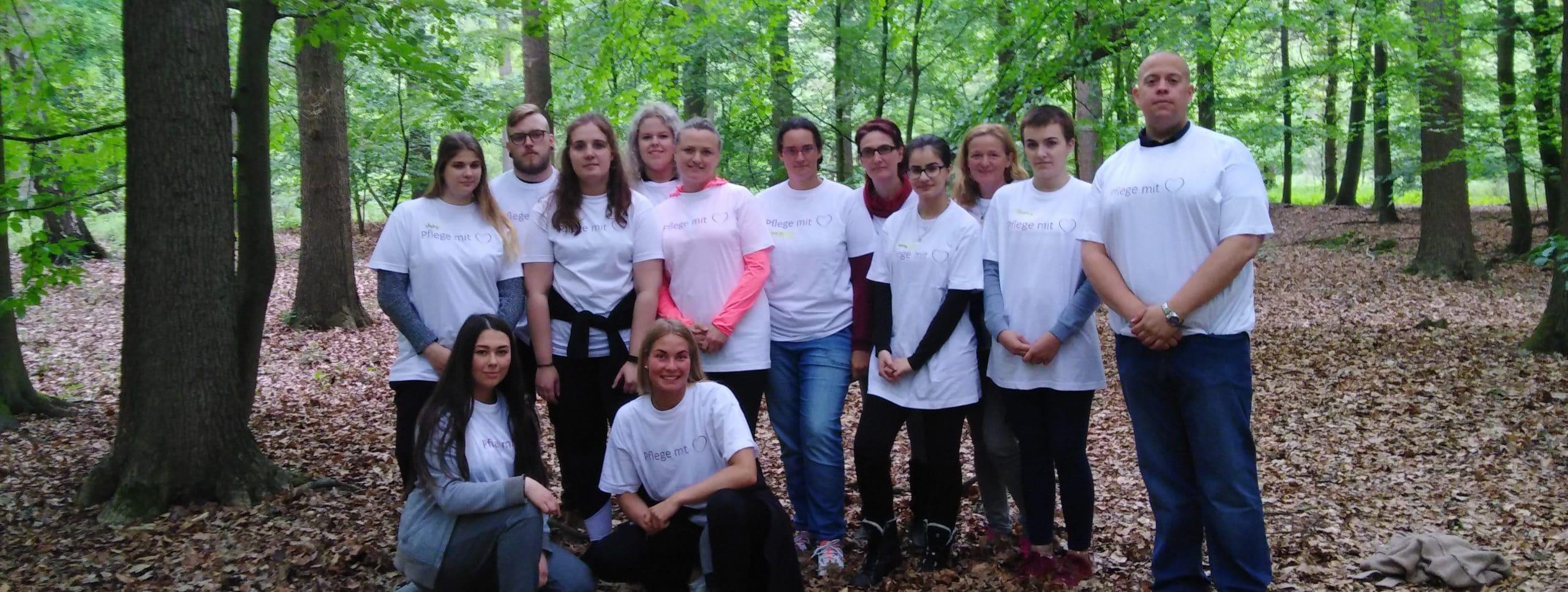 """""""Ein starkes Team"""" Azubitag im St.-Laurentius-Stift"""