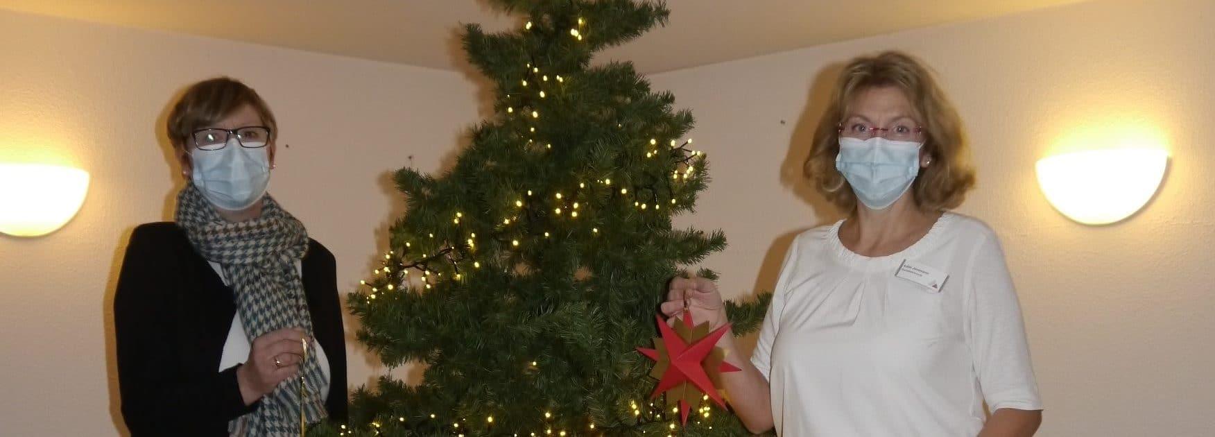 Weihnachtsschmuck von der Anna Katharina Gemeinde